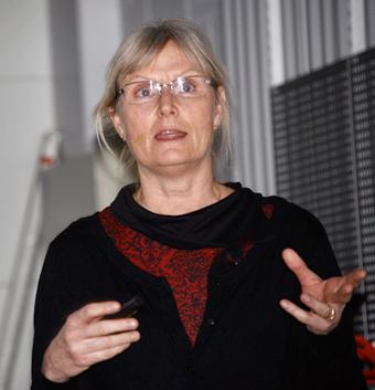 Anna Anund, forskningsledare vid VTI i Linköping. Foto: Ulo Maasin g.
