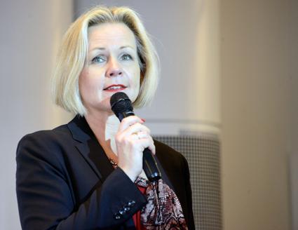 Anna Grönlund, Sveriges Bussföretag: Inga stora förändringar att vänta från EU om kör- och vilotidsreglerna. Men vi måste f en rimligare tillsyn i Sverige. Foto: Ulo Maasing.