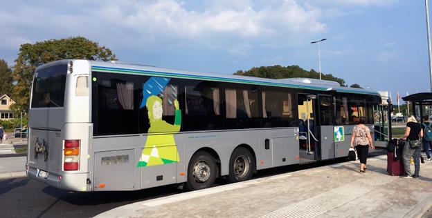 Hallandstrafiken har haft stora framgångar med årskort som köps via arbetsgivare. Foto: Ulo Maasing.