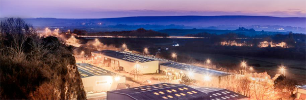 Hanovers produktionsanläggning i Lewes, England.