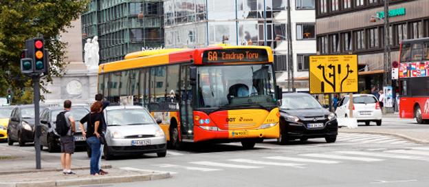 Svenska Hogia fixar ny lösning för realtidsinformation på bussarna i Köpenhamn ch på Själland. foto: Movia.