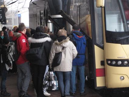 Konsumentverket planerar att under hösten kontrollera bussföretagens passagerarvillkor. Foto: Ulo Maasing.