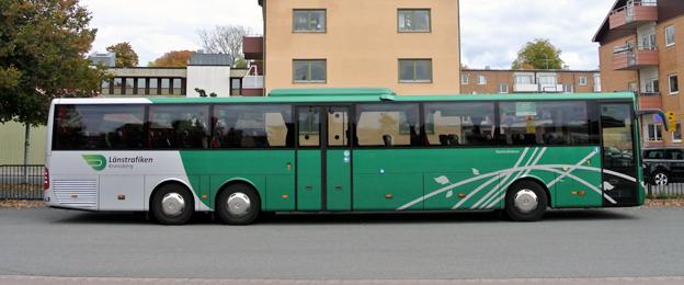 Länstrafiken Kronoberg skickar alla bussförare på kurs i service och kvalitet. Foto: Ulo Maasing.