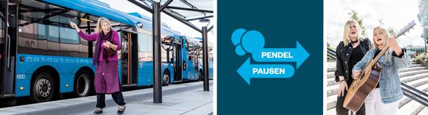 Västtrrafik lanserar Pendelpausen. Foto: Eddie Löthman, Västtrafik.