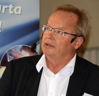 Göran Forssén, Sveriges Bussföreetag: Vi bedömer att 20 – 40  procent av de resenärer som ska vara bältade verkligen är det. Foto: Ulo Maasing.