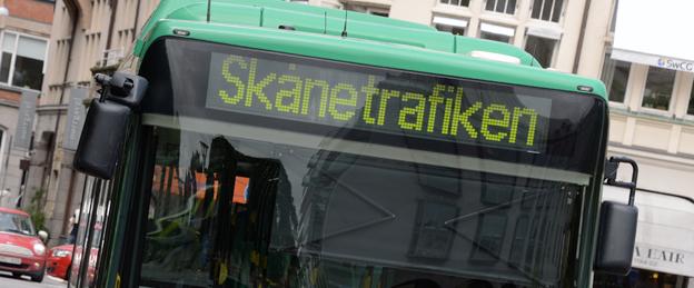 Kollektivresandet ökar i Skåne. Foto: Ulo Maasing.