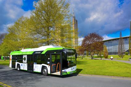 Solaris elbussar har nu avverkat mer än tre miljoner kilometer. Foto: Solaris.