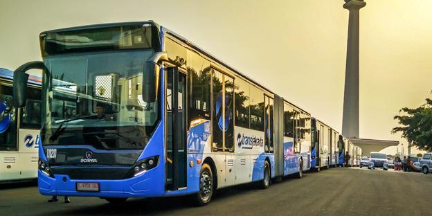Scania är en av fyra buss- och motortillverkare som åtar sig att leverera rena bussar till 20 av världens megastäder. Foto: Scania.