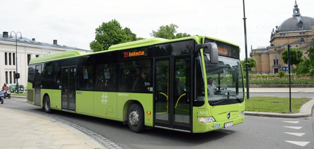 Nu lanseras en officiell standard för bussar i kollektivtrafik i Norge. Foto: Ulo Maasing