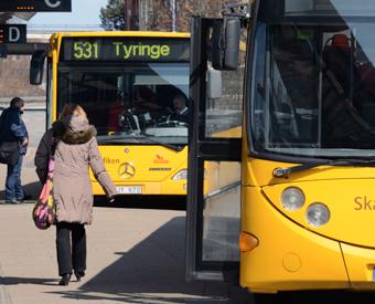 Alla biljetter i Skånetrafikens app försvann mystiskt på måndagseftermiddagen. Foto: Ulo MAasing.