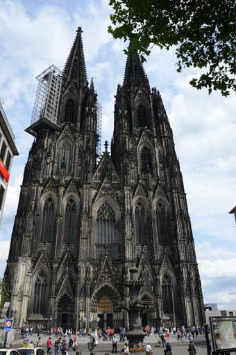 Domen i Köln. Foto: Ulo Maasing.