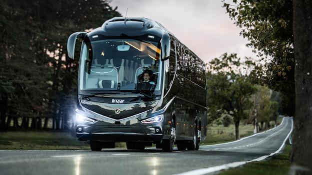 Irizar i8 har av en internatiunell fackpressjury utsetts till Årets Turistbuss i Europa. Foto: Irizaar.