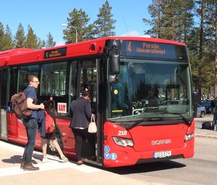 Luleå Lokaltrafik är ett av de bussföretag som omfattas av det nya avtalet mellan Kommunal och KFS. Foto: Ulo Maasing.