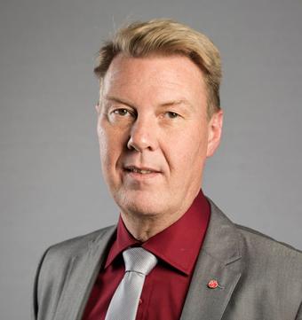 Nöjd. Bertil Kinnunen, ordförande i kollektivtrafiknämnden i Region Uppsala.