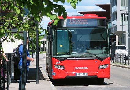 Luleå får också i framtiden sköta sin kollektivtrafik själv. Foto: Ulo Maasing.