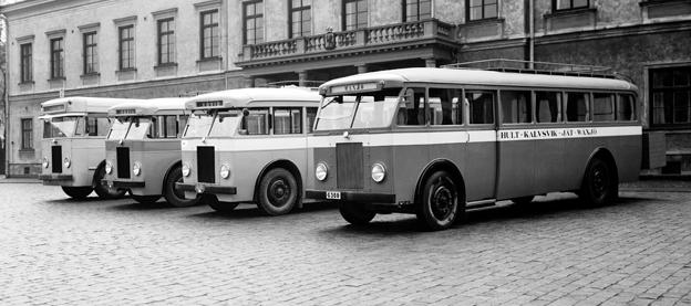 Snart standardiserade. Bus Noridc ska ange en gemensam, nordisk standard för bussar i upphandlad trafik. Foto: Scania.