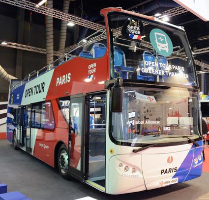 Busstillverkaren Unvi levererar elektriska dubbeldäckade sightseeingbussar till Pareis. Foto: Ulo Maasing,.