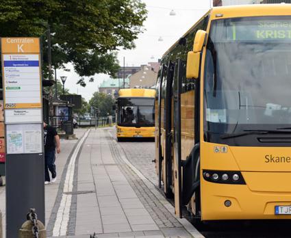 Nu slutar Skånetrafiken att distribuera tryckta tidtabeller. Foto: Ulo Maasing.