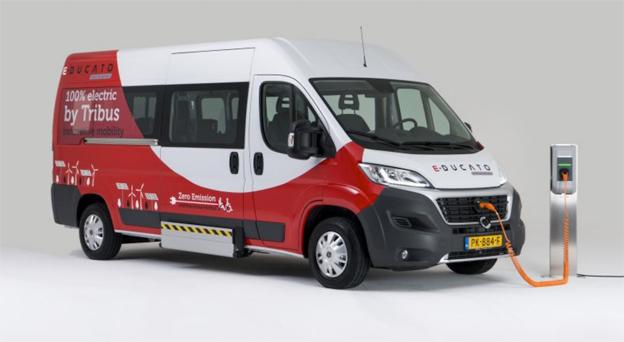 Holländdska Tribus lanserar två batteridrivna minibussar på Busworld. I Sverige representeras företaget av Vinga Bus Partner.
