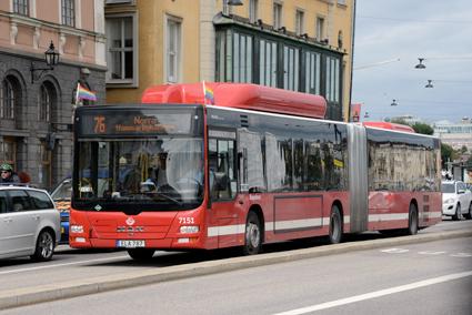 Busstrafiken i Storstockholm utökas i vinter. Foto: Ulo Maasing.