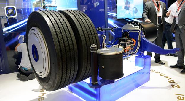Hjulet uppfunnet på nytt. Eller snarare hjulet med navmotor. Foto: Ulo Maasing.