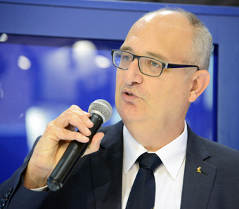 Ralf Arnold, vd för Ziehl-Abegg Automotive. Foto: Ulo Maasing.