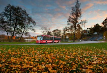 Arriva köper 51 nya bussar för trafik i norra Storstockholm. Foto: Arriva.