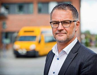 Värmlandstrafiks servicetrafikschef Anders Wahlén. Foto: Värmlandstrafik.