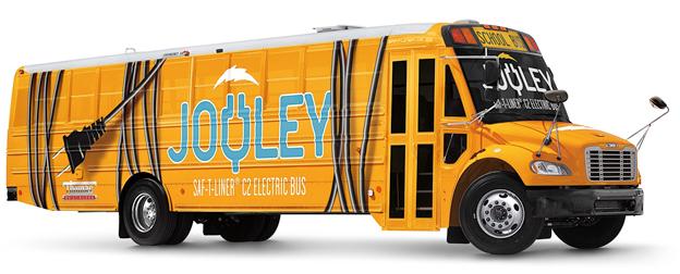 Daimlerägda Thomas Built Buses elektrifierar den klassiska nordamerikanska skolbussen. Foto: Daimler Buses.