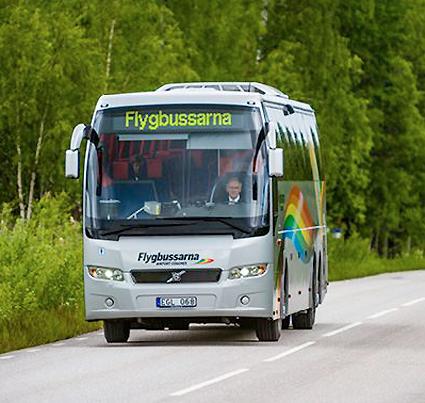 Transdev/Flygbussarna och Mobileye testar förarassistans i bussar som inte har sådan vid leverans. Foto: Transdev.