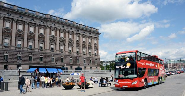 Turismen till Stockholm från utomeuropeiska länder ökar starkt. Foto: Ulo Maasing.